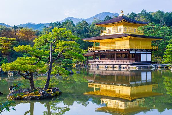 中村公認会計士事務所 夏期休暇イメージ 京都金閣寺